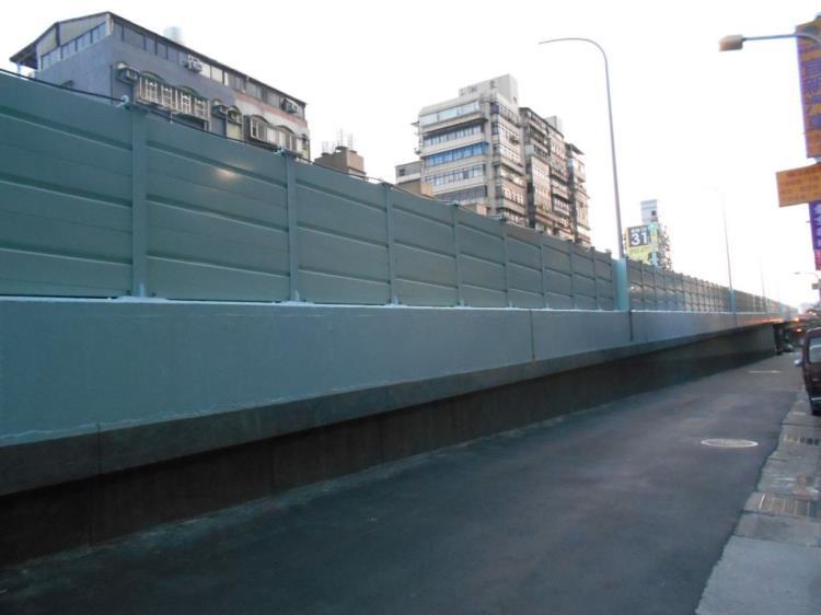 高架橋隔音牆防治
