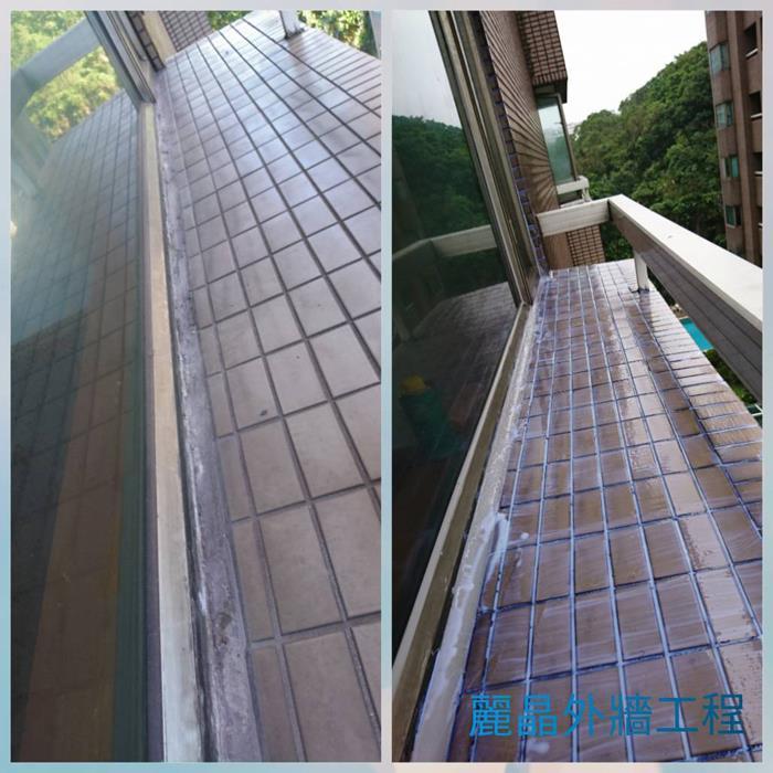 矽利康防水工程