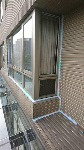 窗框矽利康更新工程