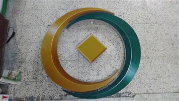 第一銀行商標噴畫