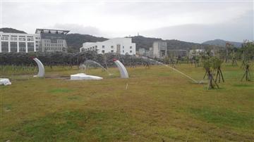 國防部博愛大樓新建工程-自動噴灌工程