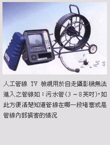 手動TV設備