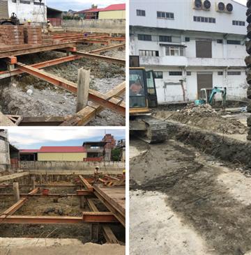 齊崴營造有限公司 - 安全支撐型鋼架設、施