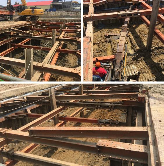 安全支撐型鋼架設、中間柱切除買斷