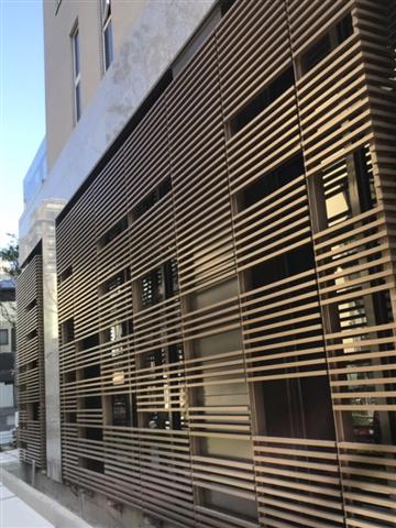 中陽建設 造型鋁格柵