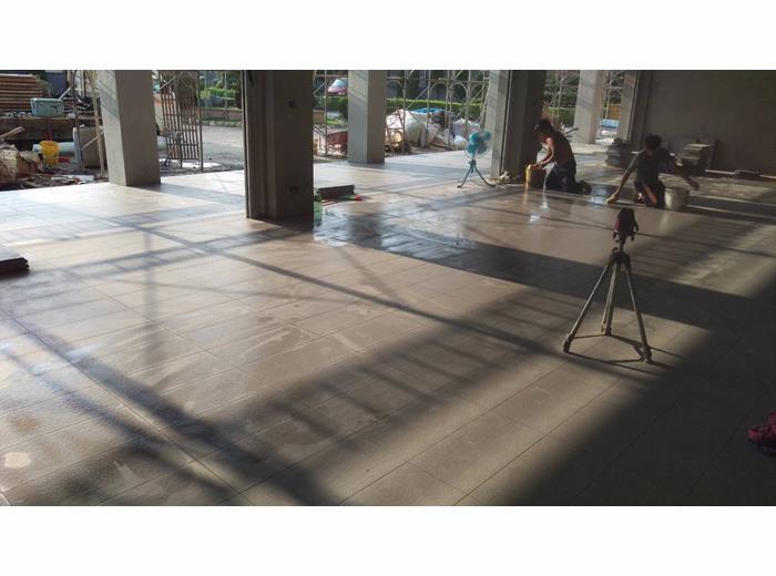 地坪舖設施工-3