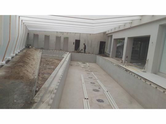 地坪舖設施工-4