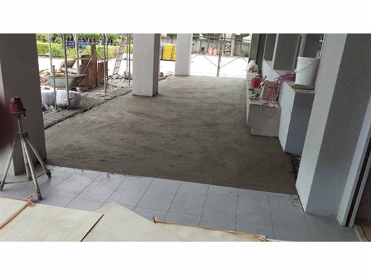 地磚舖設施工-6
