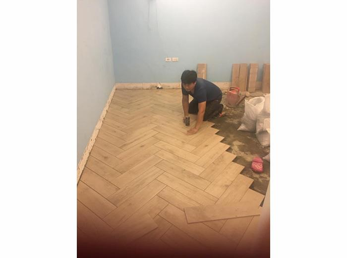 地坪舖設施工-9