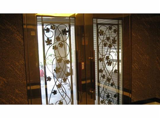 鍍鈦造型門