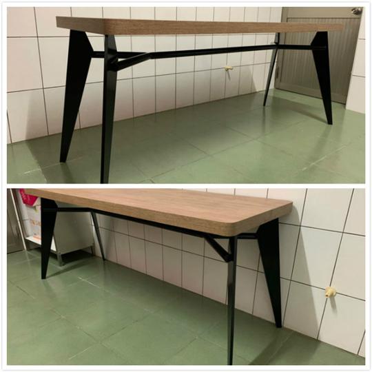 鐵件桌腳+5cm桌板
