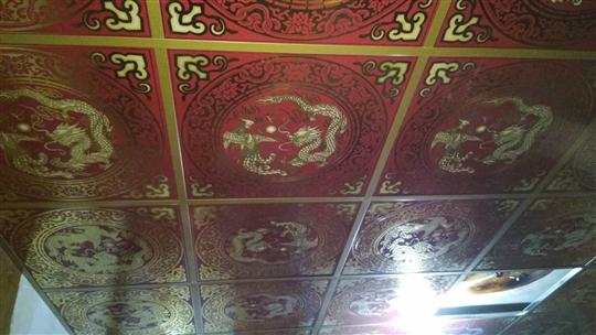 廟宇輕鋼架天花板