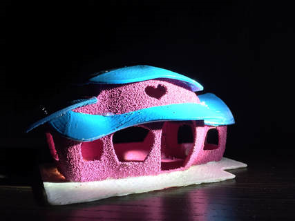 3D PRINTER建築模型