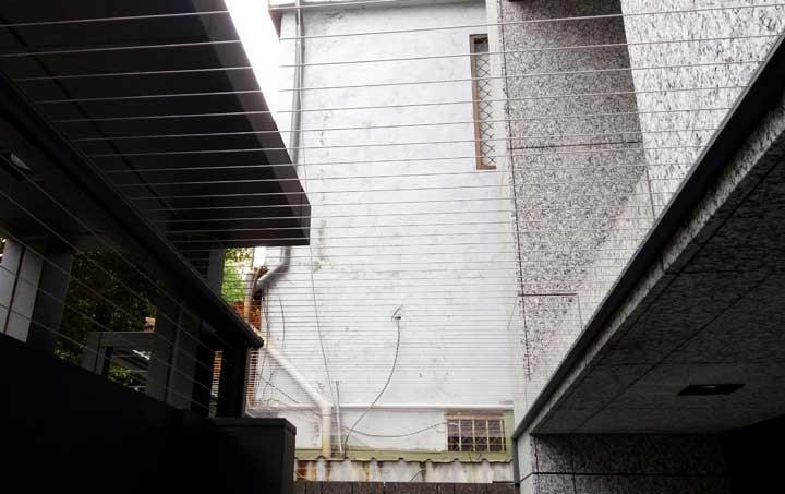 隱形鐵窗-露臺天頂