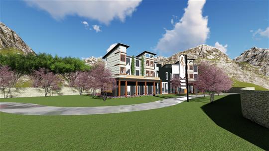 私人別墅3D規劃繪圖