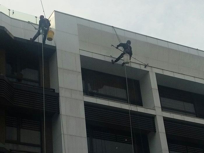 高空外牆清洗工程