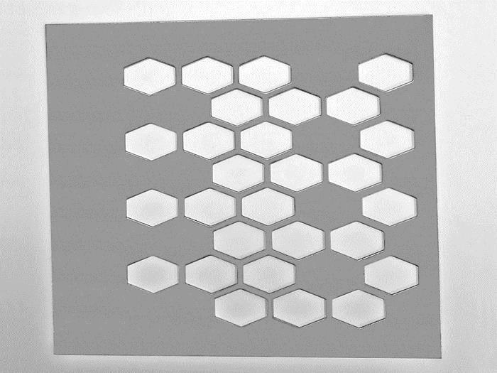 正六角型沖孔網02-2909-3615