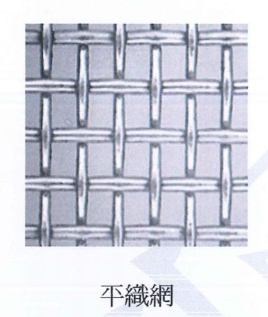 平織網、不鏽鋼平織網
