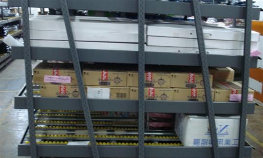2-倉庫流利架、流利式料架、流利式貨架0965-593-195