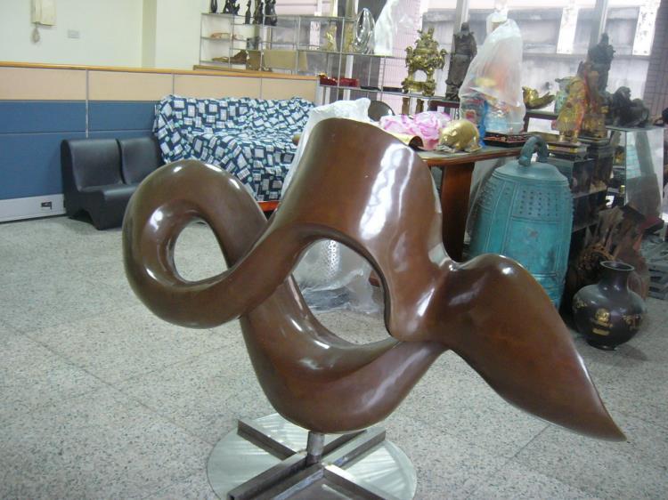 社區立體藝術銅雕