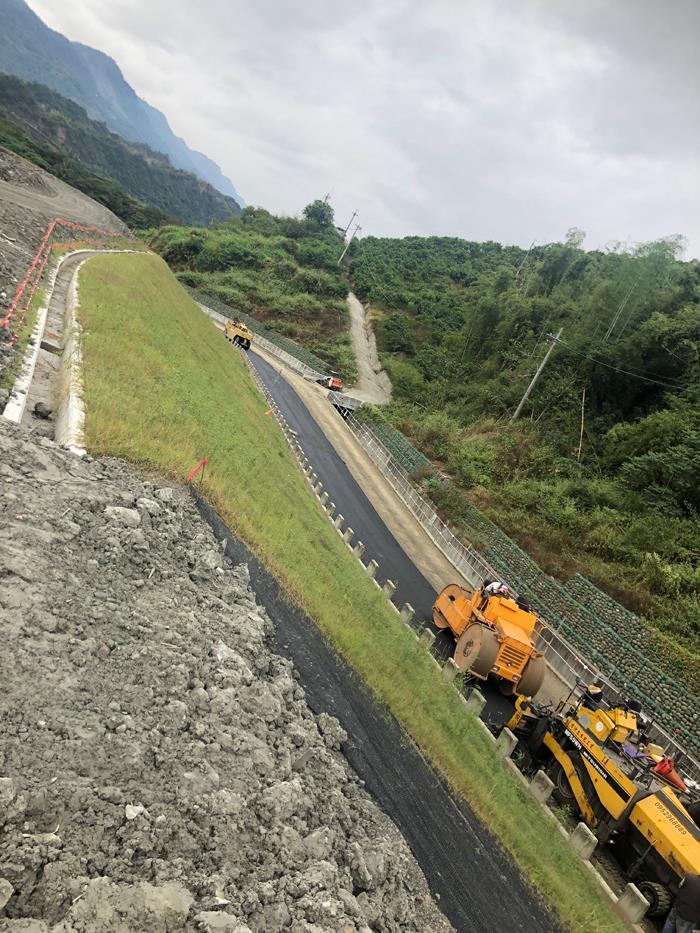 亞翔&互助南化水庫通達隧道-隧道前