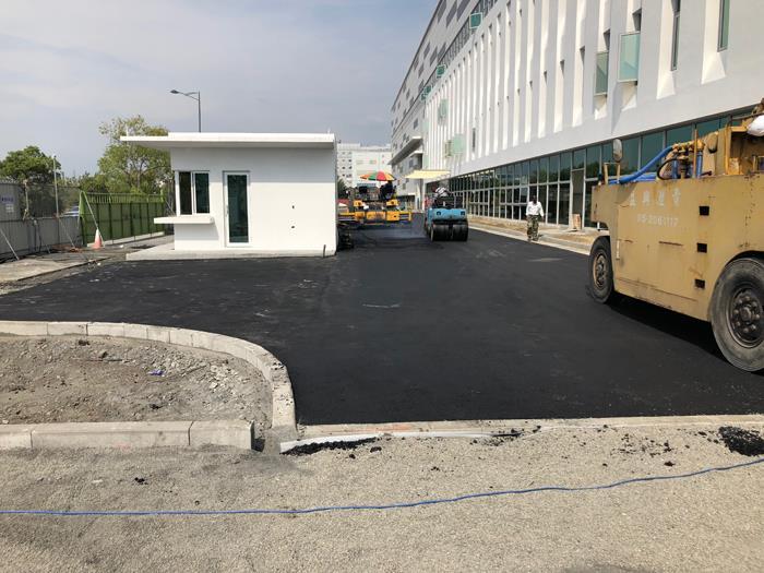 廠房瀝青混凝土施工