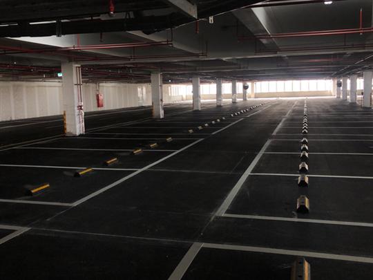 瀝青混凝土施工-廠房立體停車場
