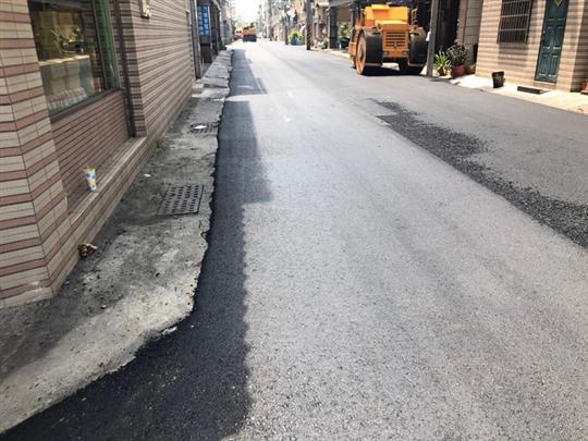 瀝青混凝土施工-市區施工