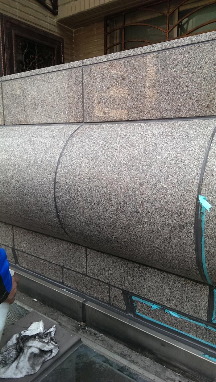 大理石矽膠填縫-完成