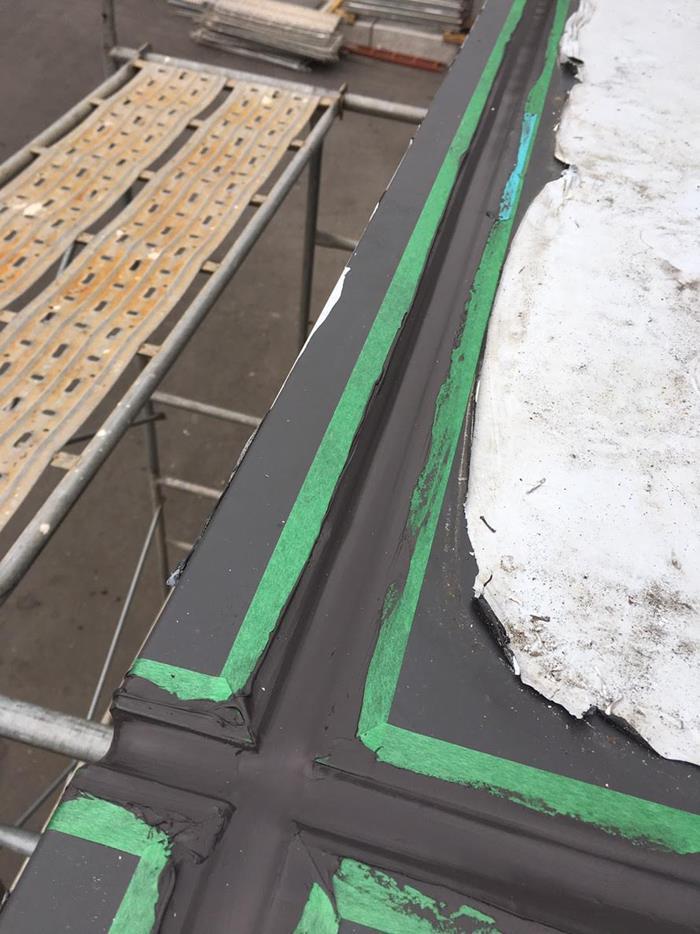 鋁板填縫工程