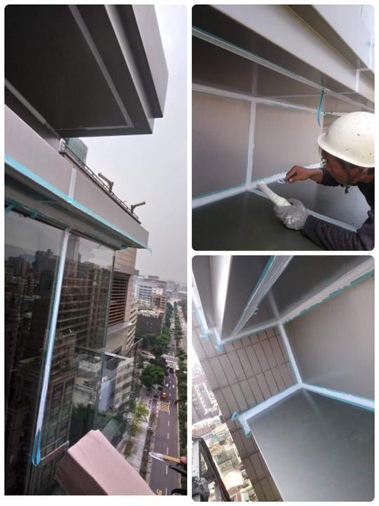 大台北鋁板填縫工程