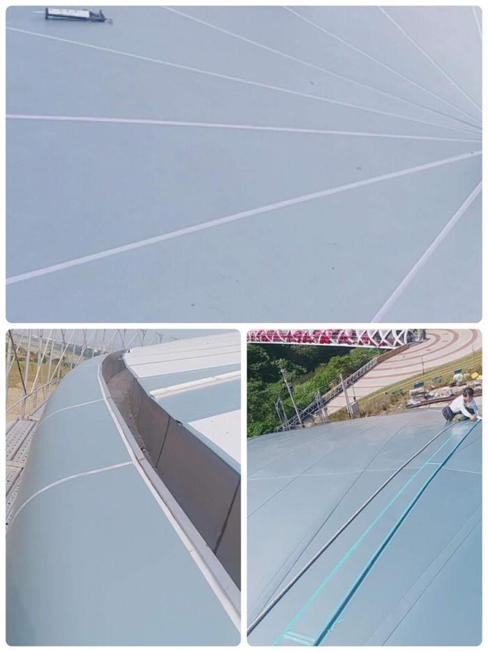 板橋區鋁板填縫工程
