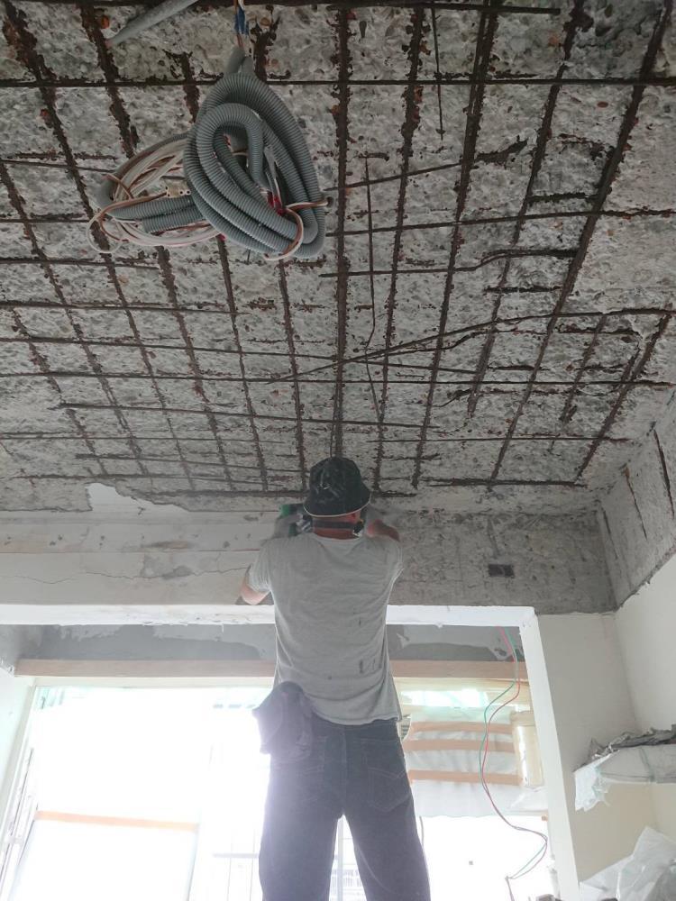 鋼筋外露修復工法