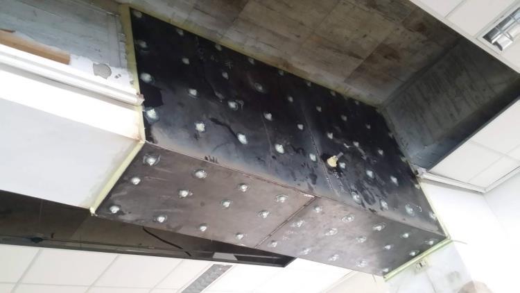 鋼板封塞灌注補強