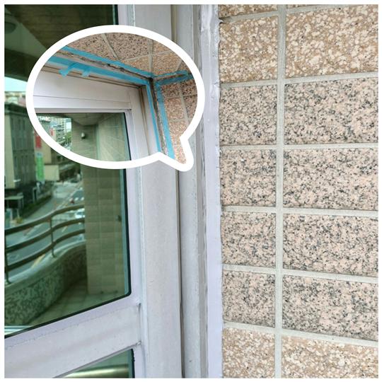 大台北外牆磁磚修補