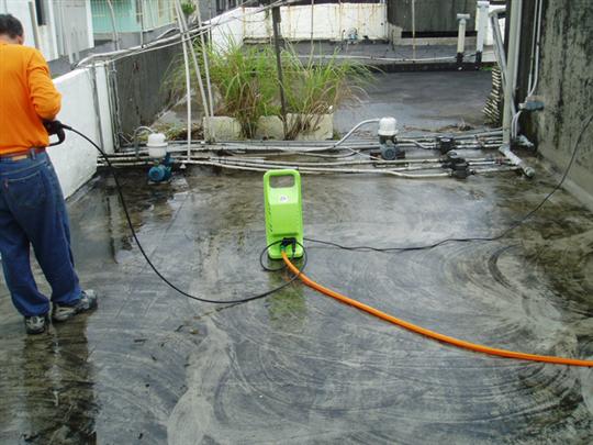 防水工程清理場地