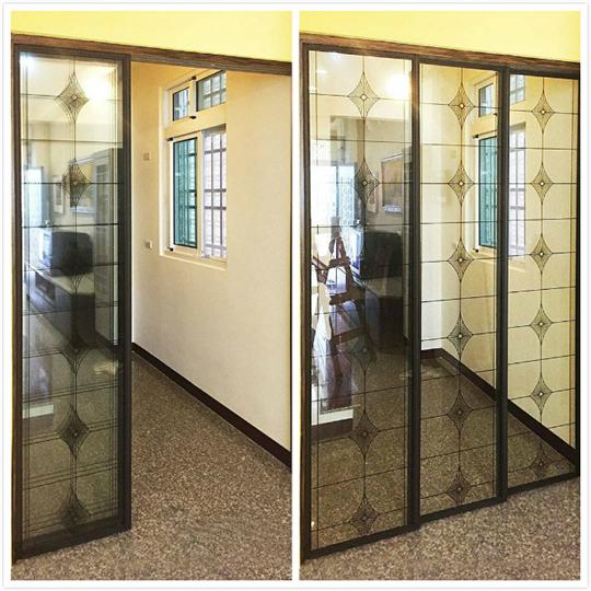 新北市玻璃門施工