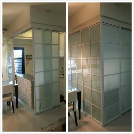 大台北玻璃門施工