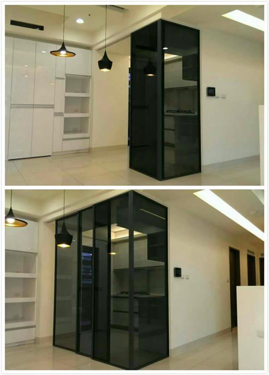 板橋區玻璃門施工