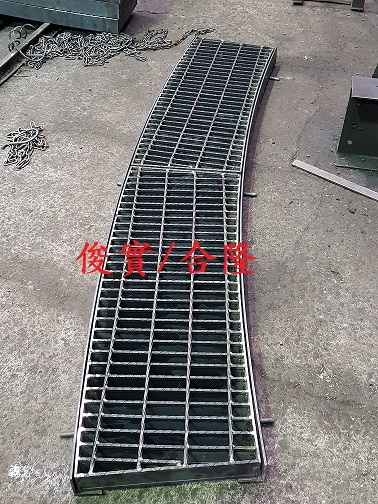 弧型止滑型格柵蓋