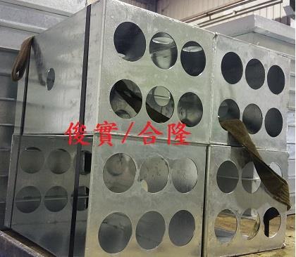 鍍鋅操作小手孔