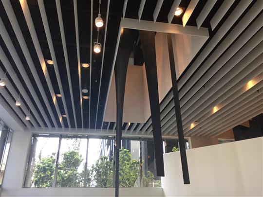 鋁擠型障板天花板