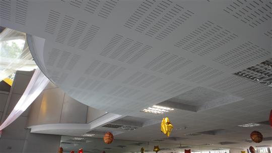 暗架沖孔吸音天花板