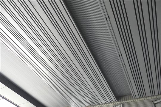 鋁擠型凹凸板&障板