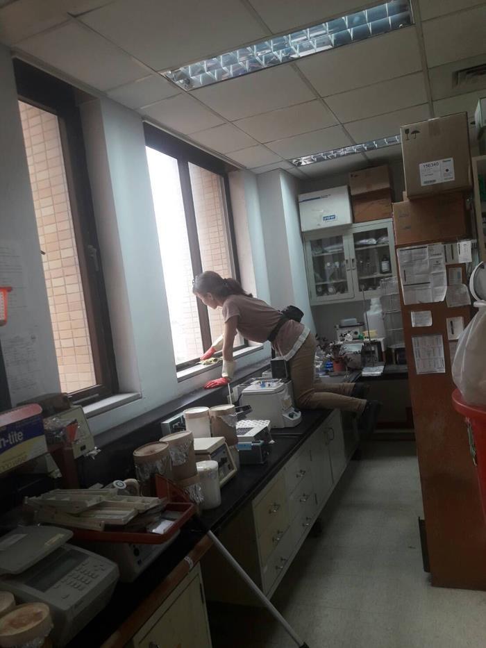 台大基醫樓-環境清潔