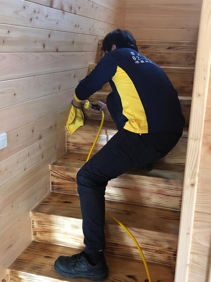 樓梯白蟻防治