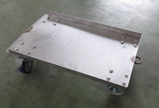 304不鏽鋼物流台車 04-7614042
