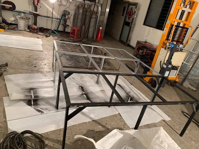 新店室內客製桌架