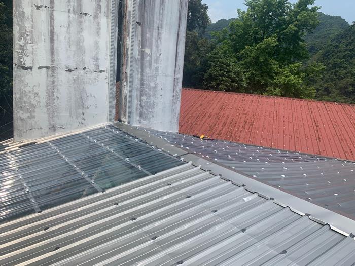 不銹鋼屋頂加蓋
