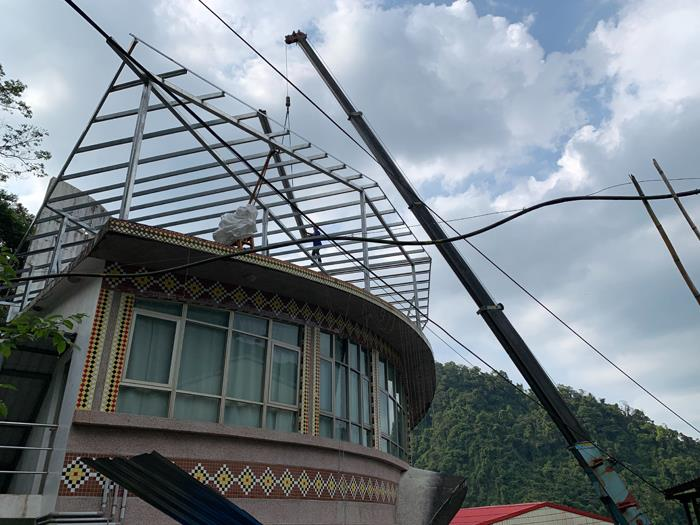 鋼構鐵架工程